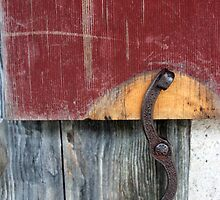 Window Latch Red Window 2 by marybedy