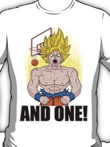 "Super Saiyan ""And One"" (Light Colors) T-Shirt"