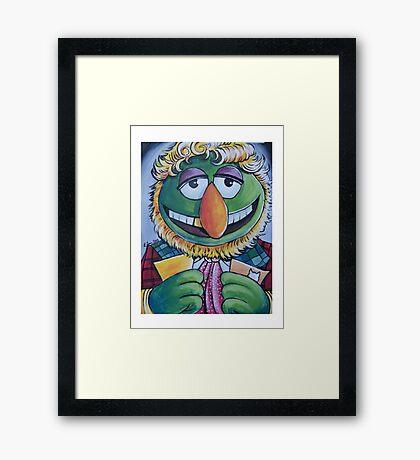 Dr. Teeth, Sixth Doctor Framed Print