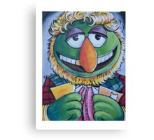 Dr. Teeth, Sixth Doctor Canvas Print