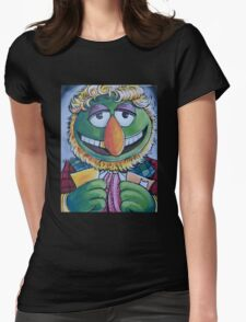 Dr. Teeth, Sixth Doctor Womens Fitted T-Shirt