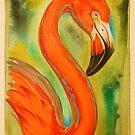 flamingo. by resonanteye