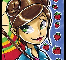 Kaylee Marker Card (iPhone-iPad) by Bamboota