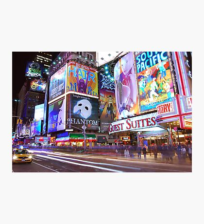 Times Square Broadway Photographic Print