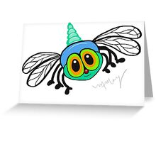 Hector the Dragonfly Greeting Card