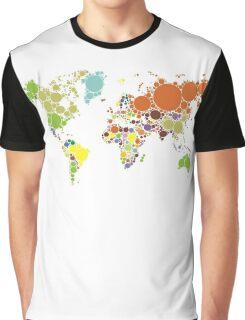 The World Goes Round & Round Graphic T-Shirt
