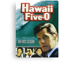 Hawaii Five-O 60s TV Series Show Canvas Print