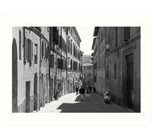Siena Laneway Art Print