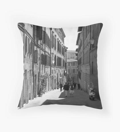 Siena Laneway Throw Pillow