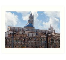 Siena Cathedral Art Print