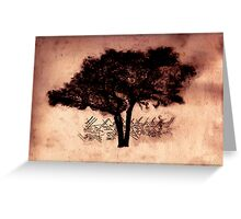 The Dogwood Psyche Greeting Card