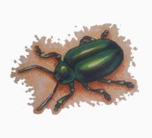 Beetle, Beetle, On the Wall Kids Tee