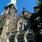 St Andrew and St David United Church by Kathleen Daley