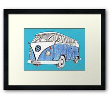 VW Van Split Screen 1966 Framed Print