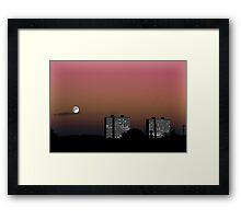 Moon... (Edited) Framed Print