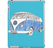 VW Van Split Screen 1966 iPad Case/Skin