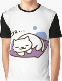 Neko Atsume, Tubbs sleeping Graphic T-Shirt