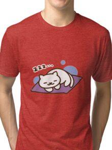 Neko Atsume, Tubbs sleeping Tri-blend T-Shirt