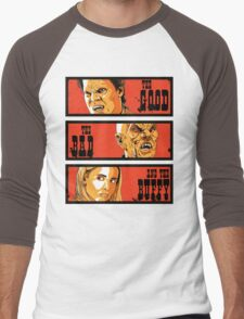 The Good The Bad and The Buffy Men's Baseball ¾ T-Shirt