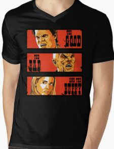 The Good The Bad and The Buffy Mens V-Neck T-Shirt
