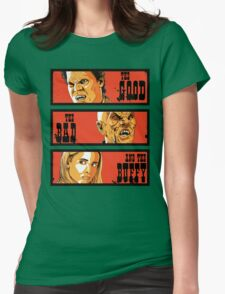The Good The Bad and The Buffy Womens Fitted T-Shirt