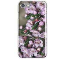 Cotten candy flowers iPhone Case/Skin