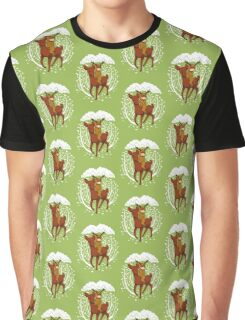 Deer Rider Graphic T-Shirt