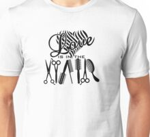 Love is in the Hair VRS2 Unisex T-Shirt