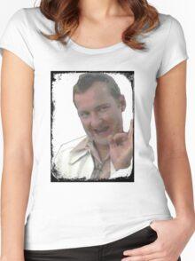 Cousin Eddie Johnson Women's Fitted Scoop T-Shirt