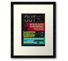 Invictus Framed Print