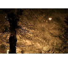 Stormy weather - Fall in Bergen Photographic Print