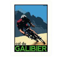 col du Galibier Art Print