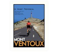 Ventoux Climb Art Print