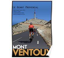 Ventoux Climb Poster