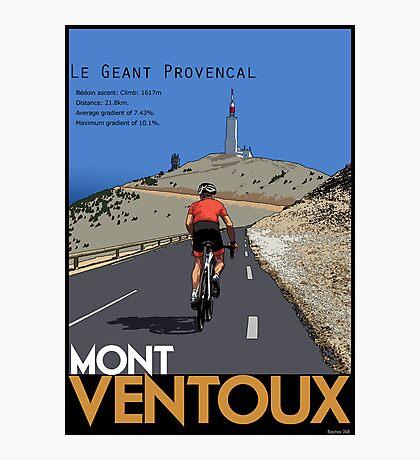 Ventoux Climb Photographic Print