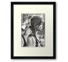 passion...in pencil Framed Print