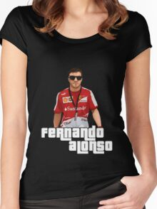 Alonso GTA Style Women's Fitted Scoop T-Shirt
