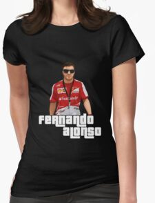 Alonso GTA Style Womens Fitted T-Shirt