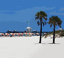Clearwater Beach by Wrayzo