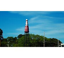 Brooks Catsup Water Tower Photographic Print