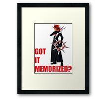 """Axel """"Got It Memorized"""" Framed Print"""
