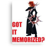 "Axel ""Got It Memorized"" Canvas Print"