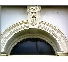 Half Moon Window & Ornament - Williamstown Vic. Photographic Print
