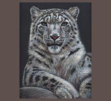 Snow Leopard Portrait Kids Clothes
