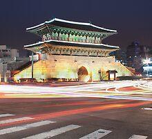 Dongdaemun Gate by Belle  Nachmann