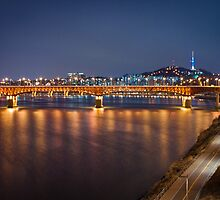 Seongsu Bridge, Seoul by Belle  Nachmann