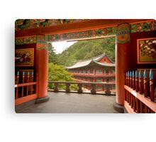 Guinsa Temple, South Korea Canvas Print