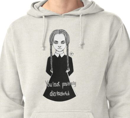 Wednesday Addams Pullover Hoodie
