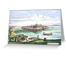 Lake town (Esgaroth) The Hobbit Greeting Card