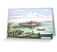 Lake town (Esgaroth) The Hobbit Greeting Card